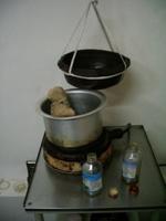 Ayurvedische kerala olie behandeling voor reuma en shirodara schaal, JMKH